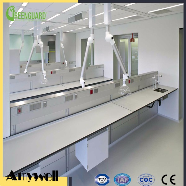 Amywell lab equipment dental lab equipment wooden work bench for labs