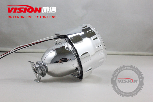 Hid bi-xenon projector lens light/ccfl angel eyes
