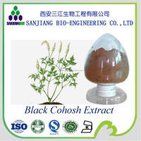 100% Pure Natural High Quality Black Cohosh Extract powder 2.5%
