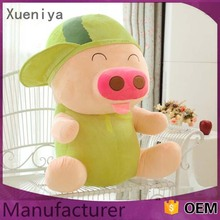 China Hot Sale Custom Cute Soft Mcdull Pig Stuffed Animal