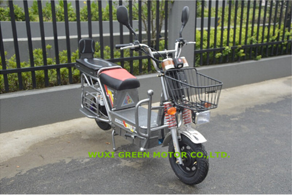 1200w e motorbike with heavy goods carrier battery scooter