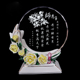 Cheap wholesale new products crafts customized handmade crystal glass martial arts trophy medal
