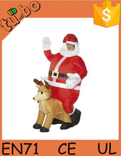 Inflável papai noel roupas de <span class=keywords><strong>natal</strong></span> papai noel Costume <span class=keywords><strong>terno</strong></span>