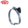 Taiwan hose pipe fittings clamp clip for woodwork and coil pipeline
