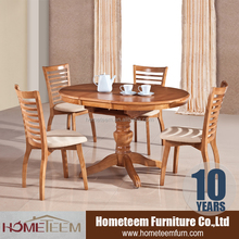 Round kitchen solid wood dining table prices