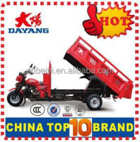 Popular 3 wheel cargo tricycle new three wheel handicapped motorcycle tricycles with roof with Dumper