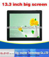 i robot android tablet pc 13.3 inch touch screen