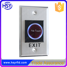 RFID Infrared Sensor no touch switch door release push button with cheap price