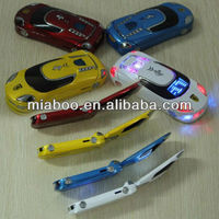 Newest style Race car shape USB flash drive pen usb, Plastic race car key usbs,Popular race car shape USB memory 2.0 free sample