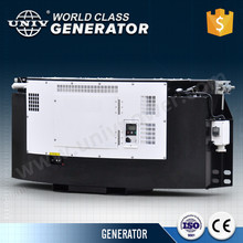 Clip on generator set for refrigerated container truck mount genset
