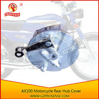 AX100 Motorcycle Drum Brake Assy Rear Hub Cover