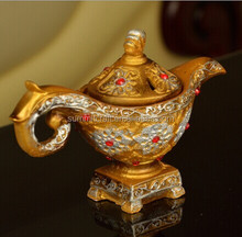 Resin Aladdin lamp style chinese censer wholesale