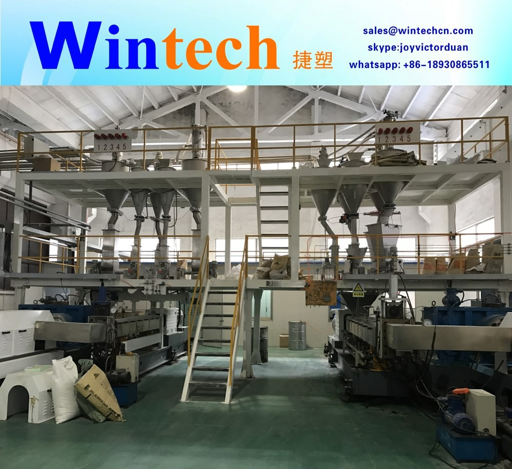 CO2+CFC/HCFC XPS Foam Board Production Machine Line