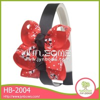 Fine gift butterfly shape elastic HB-2004 shell hair accessory