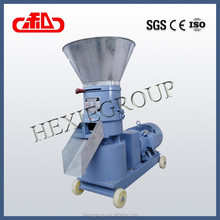 Poultry and livestock rice chaff feed pellet machine