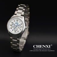 The fashion new design top watch japan movement diamond quality chenxi brands watch wholesale