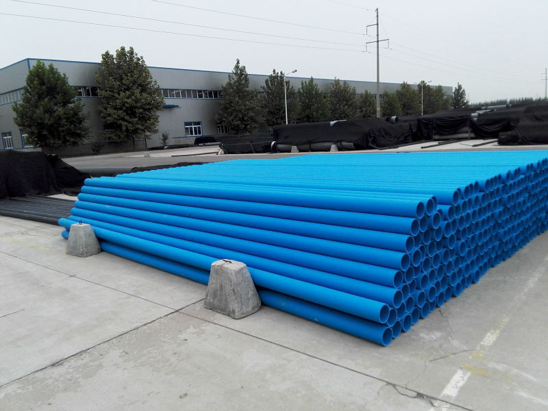 Blue water supply pipe flexible pipe plastic pe pipe for for What is the best material for water pipes