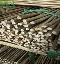 WY T-001 Natural strong dry bamboo poles,bamboo stakes china for sale