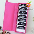 good quality factory sunglasses case PU PVC leather sunglasses box for women lady