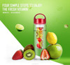 hot selling BPA free promotional cheap and high quality plastic infuser tritan fruit shake bottle wholesale private label