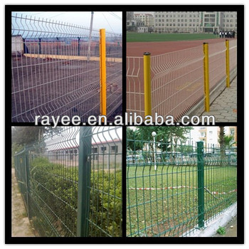 EU and USA cheap wrought iron fence panels for sale (green RAL6005, white RAL9010)