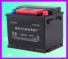 Manufacturer supply 12V 60Ah ca/ca car battery With competitive price