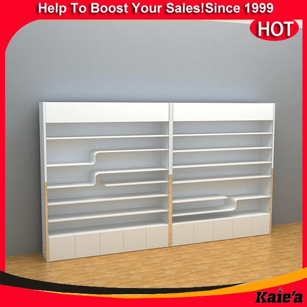 Retail candy display rack,white wood candy display rack design