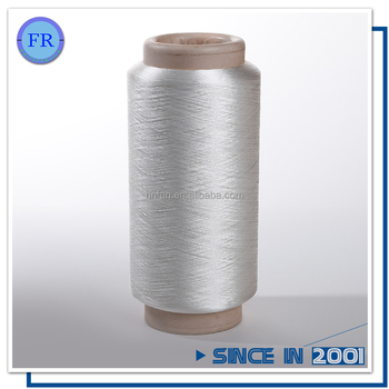 Cheap free sample bright rayon filament yarn raw white