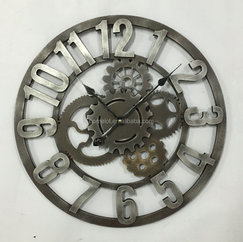 Customised Design Round MDF Wall Clock