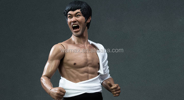 Hollywood movie figures custom Bruce Lee movie figurines chines kung fu