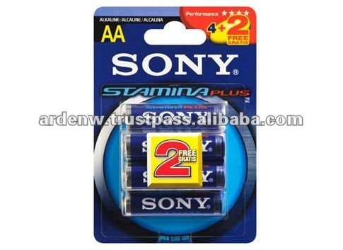 High Quality Stamina Plus Sony AAA 1.5V Dry Battery