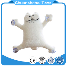 CHStoy custom sucking disc toy individuality big eyes plush toy cat