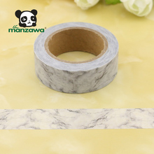 Hot Sale Great Grey Marble Design Japanese Paper Removable Custom Make Washi Tape
