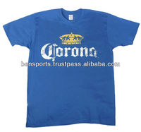 Cinco de Mayo T-Shirts T-Shirts 100% cotton with printed of Corona Logo T-Shirt