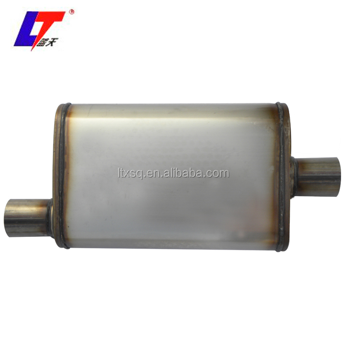 polished Auto Spare Parts universal exhaust muffler silencer Truck Exhaust Muffler, silencer polished