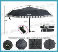21inches x 8 Panel Pocket Fold Umbrella with Bag