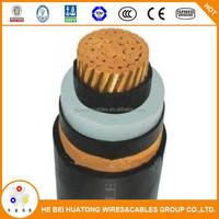26/35kv copper XLPE insulated high voltage armoured cable