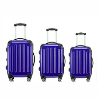 2017 Luggage Sets 3pcs with ABS and PU travel carry on Luggage bags