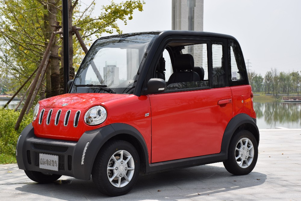 Electric smart 4 seat car high speed low price