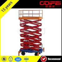 Cheapest 300Kg Mobile Scissor Hydraulic Lift Tables