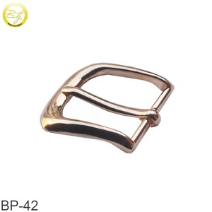 Wholesale custom high quality blank metal pin belt buckle for belt
