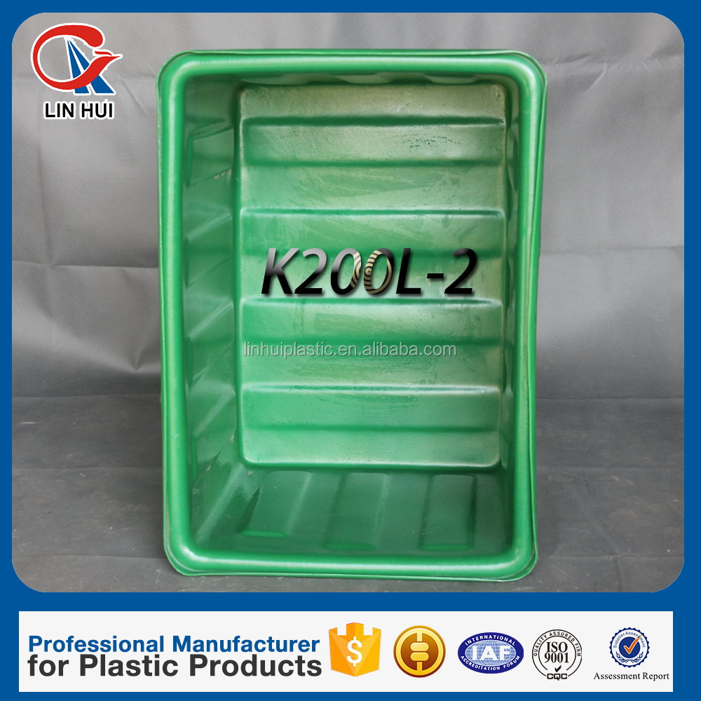 Stackable plastic boxes 200L Widely used storage totes with a discount made in china