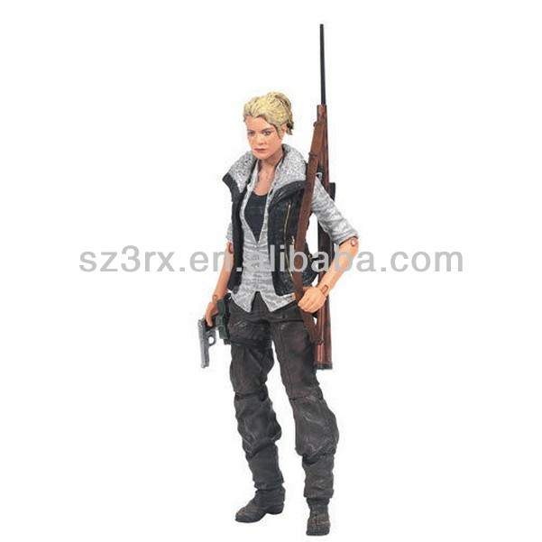 THE WALKING DEAD ACTION FIGURE ANDREA BY MCFARLANE TOYS SERIES 4