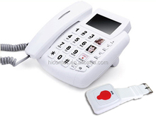 Big button senior telephone for old people and for hotline SOS emergency call