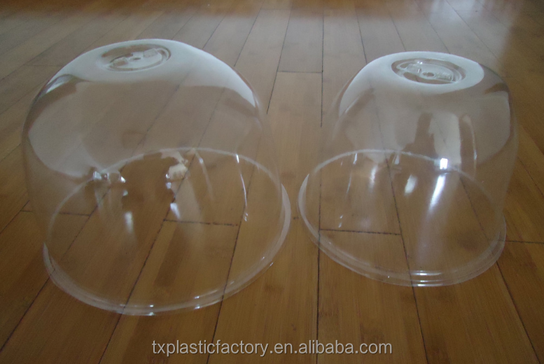 Factory supply high quality garden plastic bell cloche