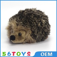 OEM Factory wholesale plush hedgehog, baby hedgehog plush toy for claw machine