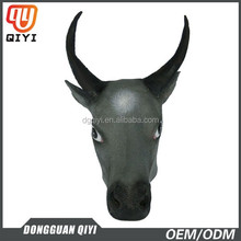 Bull With Grey Colour Masks Masquerade Latex Mask Animal Cartoon Face Masks Face Mask Party