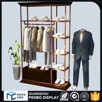 New Arrival Product Showcase clothing Store Shop Furniture Garment Display For Sales
