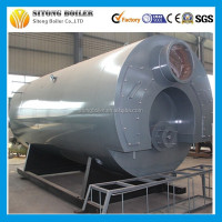 WNS oil gas fired industrial steam boiler price 8ton diesel steam boiler