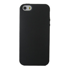 frosted TPU soft case black matte soft cover flexible anti-fingerprint shockproof shell cover for iPhone5/5s